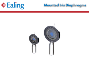 Mounted Iris Diaphragms