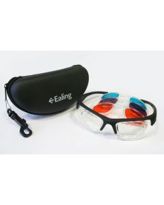 Laser Safety Glasses Kit, Visible Wavelengths with Etui